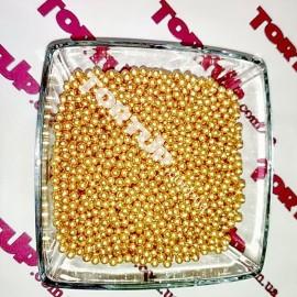 Драже Красное золото 5мм 20г