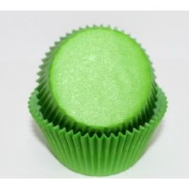 Бумажная форма для маффинов 50/30 Зеленая 50шт