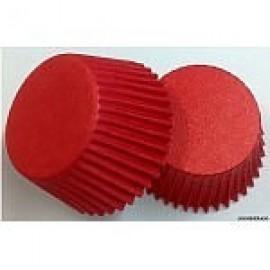 Бумажная форма для маффинов большая Красный 40шт 53*43мм