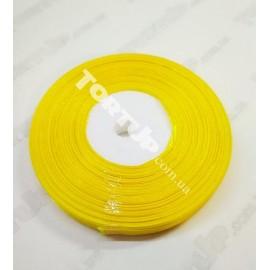 Лента атласная 9мм Жёлтая
