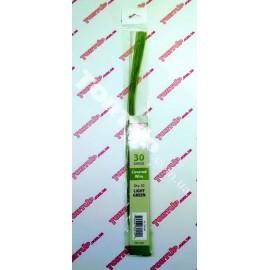 Проволока Светло зелёная СК №30, длинна 36см, диаметр 0,3мм