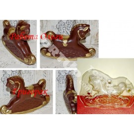 Форма для шоколада Лошадка 3D, 17*12см, на магните
