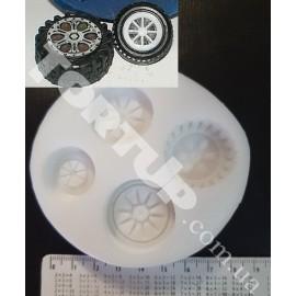 Молд 4 колеса