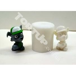 Молд 3D Рокки (Щенячий патруль) 4см