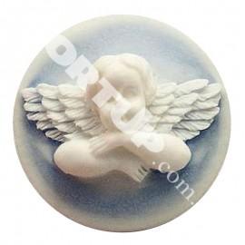 Молд Камея ангелочек 2,5см