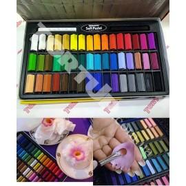 Пастель, замена Сухим краскам-пыльца, набор 48 цветов