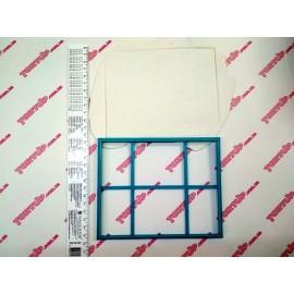 Пластиковая вырубка Рамка прямоугольная, 15см*12см
