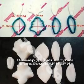 Пластиковая вырубка Орхидея Каттлея