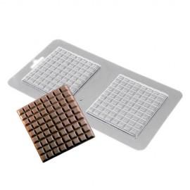Форма для шоколада и мастики Прямоугольная плитка 2шт