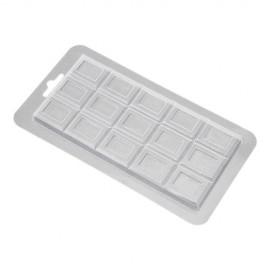 Форма для шоколада и мастики Шоколадная плитка №2 Классика, размер молда 15*7см
