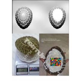 Форма для шоколада Яйцо большое 3D Размер готового изделия 10,6*14*11,2см АКЦИЯ!