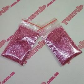 Блёстки Диско Светло-розовые  Англия  (Не токсичен для декора) 100г