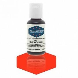 Гелевая краска AmeriColor Электрик красный (Electric Red) 21г