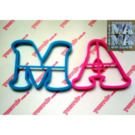 Пластиковая вырубка МА 10см