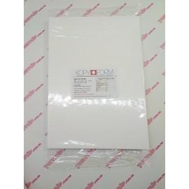 Вафельная бумага KopyForm Тонкая А4 (21 см х 29,7 см) Толщина 0,4мм 25листов