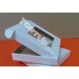 Коробка для пряника Белая с окном 15*15см