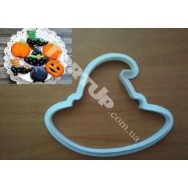 Пластиковая вырубка Хэллоуин Колпак 10 см