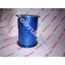 Лента в катушке синяя голография