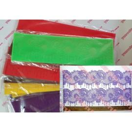 Коврик для гибкого айсинга Цветок с подвесками, 10*37см, фабричный Китай