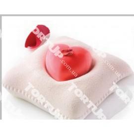 Форма подушка для сердечка