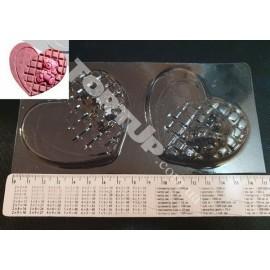 Форма для шоколада Мишка в сердечке
