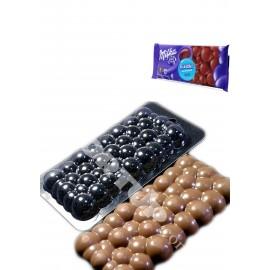 Форма для шоколада Milka Bubble Размер молда15/7см