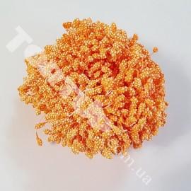Тычинки маленькие оранжевые №2 примерно 80шт