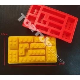 Силиконовая форма Конструктор Лего №2