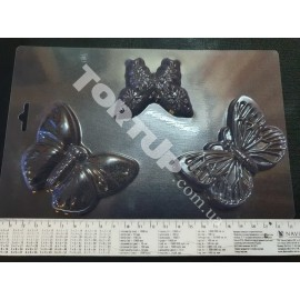 Форма для шоколада Бабочки