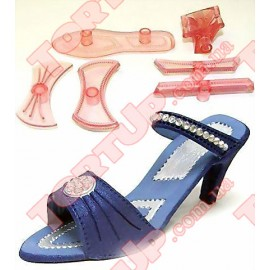 Вырубка Туфелька 3D для мастики