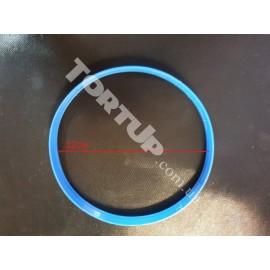 Пластиковая вырубка Рамка круг 12см