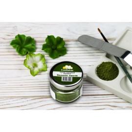Краситель сухой(пыльца) Confiseur Зелёная Листва, 20мл