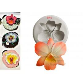 Молд Орхидея №1 5см