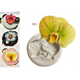 Молд Орхидея №3 5см