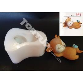 Молд силиконовый Оленёнок 3D №3