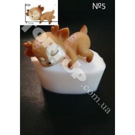 Молд силиконовый Оленёнок 3D №5