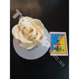 Молд силиконовый Роза 3D №1 6см