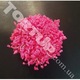 Тычинки маленькие розовые №2 примерно 80шт