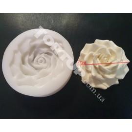 Молд силиконовый Роза 3D №2 7см
