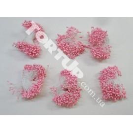 Тычинки маленькие розовые примерно 80шт
