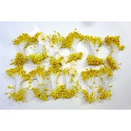 Тычинки маленькие жёлтые примерно 80шт