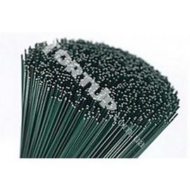 Стебель зеленый без ленты  0,8мм, 40см-60шт