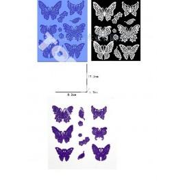 Коврик для гибкого айсинга Бабочки №2