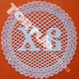 Коврик для гибкого айсинга Салфетка пасхальная 1  Диаметр 16,5см