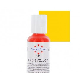 Гелевая краска AmeriColor лимонно жёлтый (Lemon Yellow)