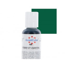 Гелевая краска AmeriColor зелёный лес (Forest Green)