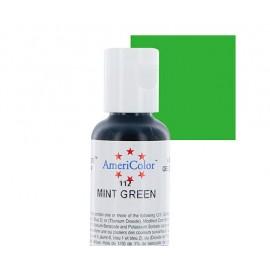 Гелевая краска AmeriColor зелёная мята (Mint Green)