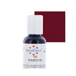 Гелевая краска AmeriColor марсал (Maroon)
