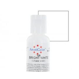 Гелевая краска AmeriColor ярко белый (Bright White)