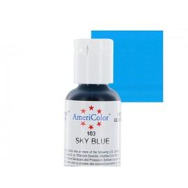 Гелевая краска AmeriColor небесно голубой (Sky Blue)